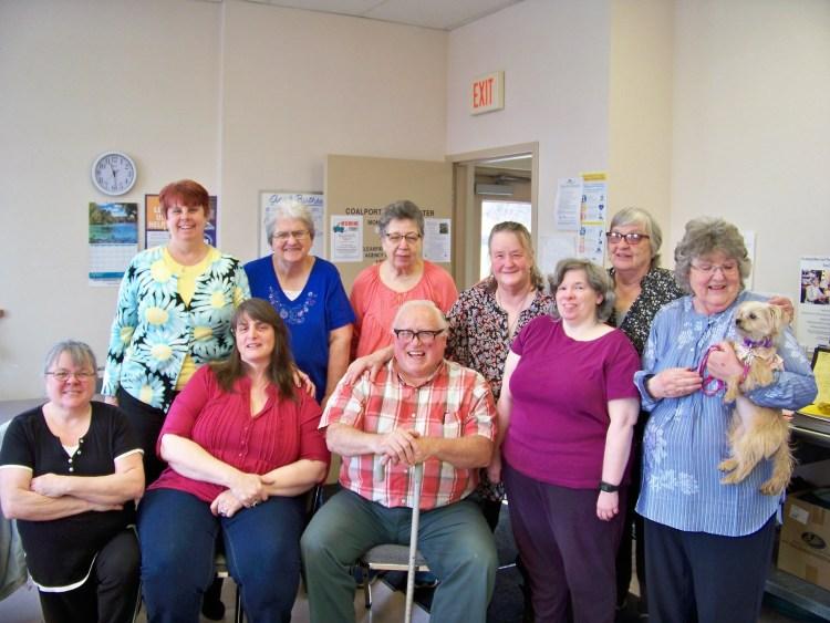 CCAAA Coalport senior citizens grads May 1