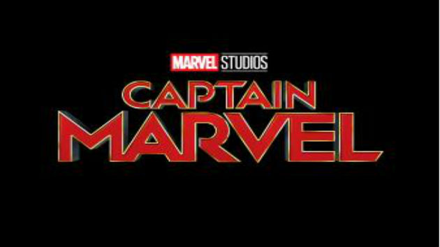First look at Captain Marvel in her iconic red-and-blue suit