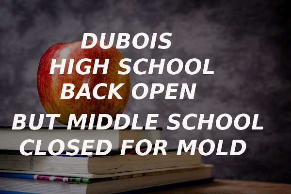 high school open middle school closed mold