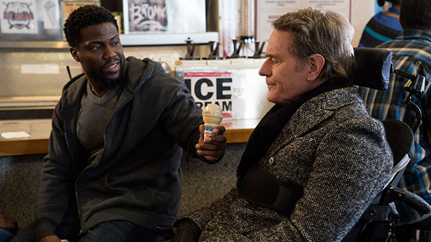 """Kevin Hart and Bryan Cranston in """"The Upside""""; David Lee/STX Films"""