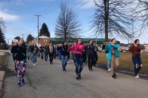 Curwensville Marching Band