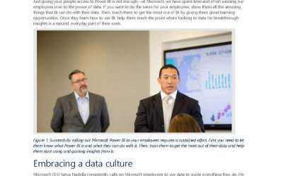 Empowering your organisation to embrace a data culture with Power BI