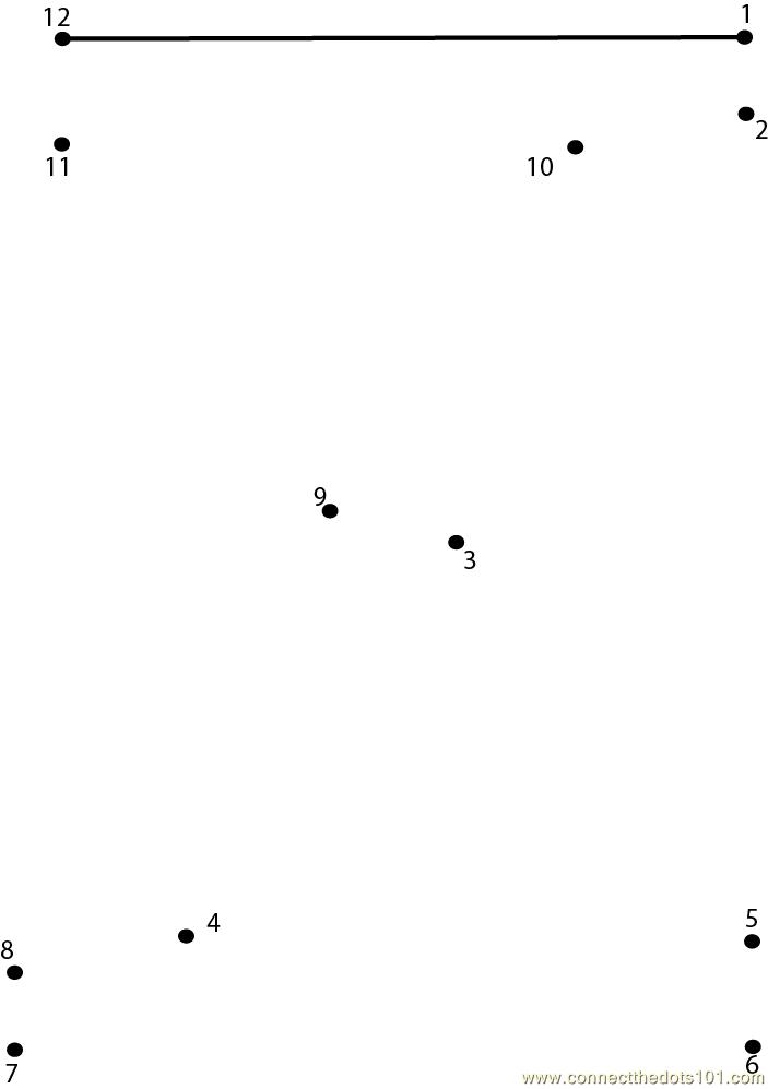 Alphabet Z Dot To Dot Printable Worksheet