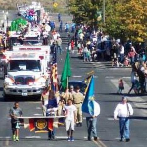 Parade  fall festival