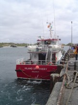 The Ferry to Inishbofin