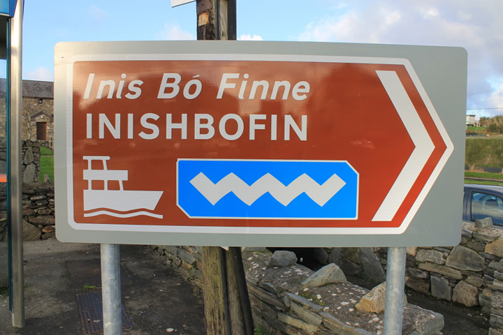 Innis Bó Finne – Island of the white cow. A cycling trip in winter.