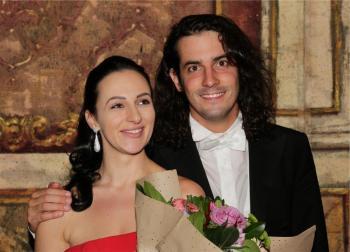 Adriana Ferfecka, Lorenzo Passerini - Foto Giuliano Ghiraldini