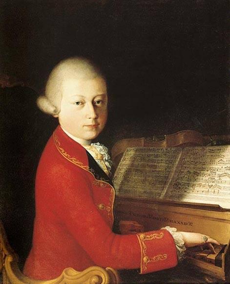 Ritratto di Wolfgang Amadeus Mozart