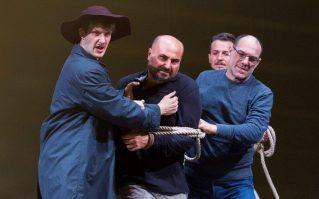 La fanciulla del West al San Carlo, un momento delle prove. Photo credit: Luciano Romano