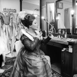 Renata Scotto 1964 Lucia di Lammermoor ph Erio Piccagliani