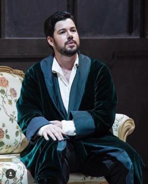 Antonio Poli nella Traviata