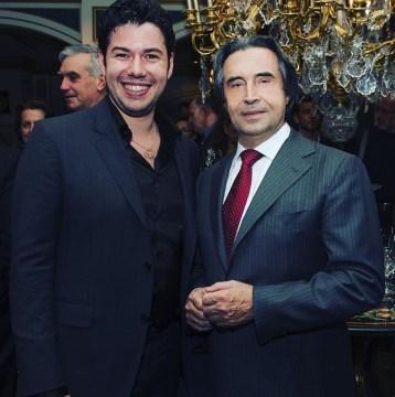Antonio Poli con Riccardo Muti