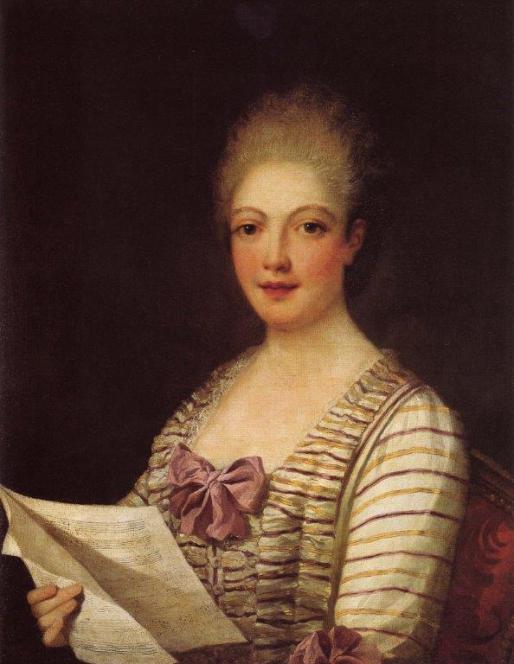 La Bastardina in un ritratto attribuito a Pietro Melchiorre Ferrari