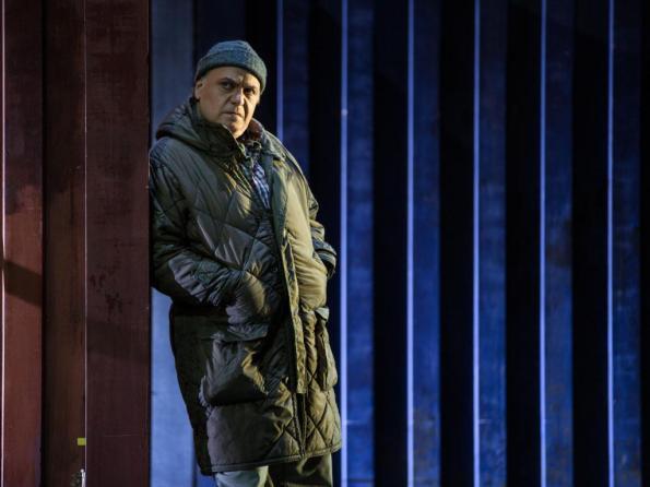 Roberto Frontali nel Tabarro, Opera di Roma