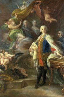 Corrado Giaquinto, ritratto di Carlo Broschi detto Farinelli, 1753