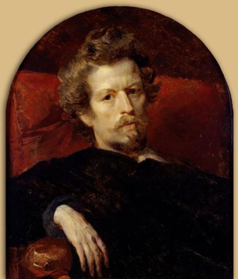 Karl Pavlovič Brjullov, Autoritratto, 1848 (Galleria Tret'jakov, Mosca)