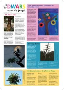dwars 169 kinderpagina over bomen