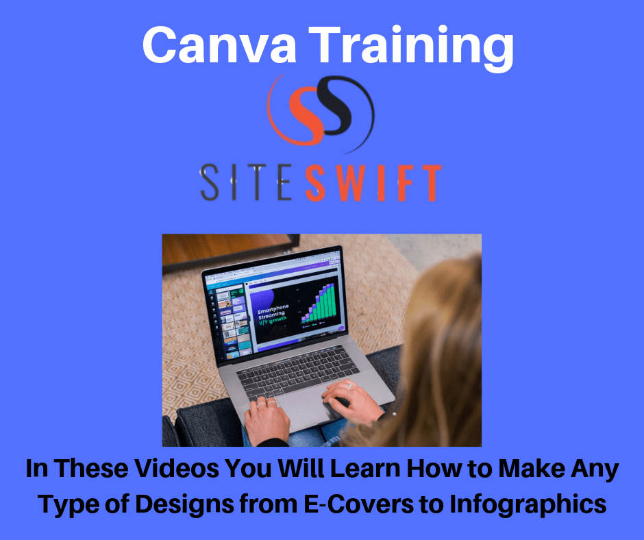 A Bonus page showing Canva as the Free Training Bonus