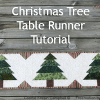 Christmas Tree Runner Tutorial