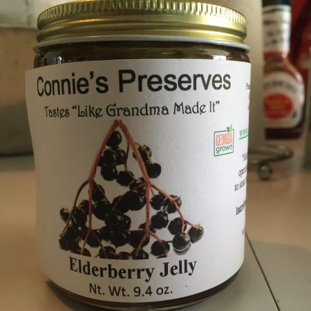 Connie's Jam Elderberry Jelly