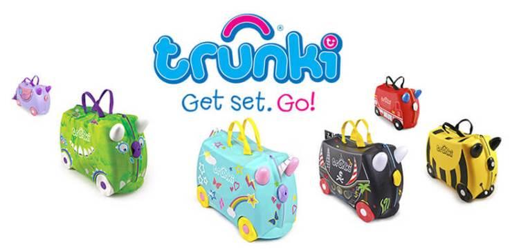 Trunki maletas para niños