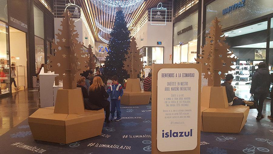 Navidad Sostenible en el Centro Comercial Islazul