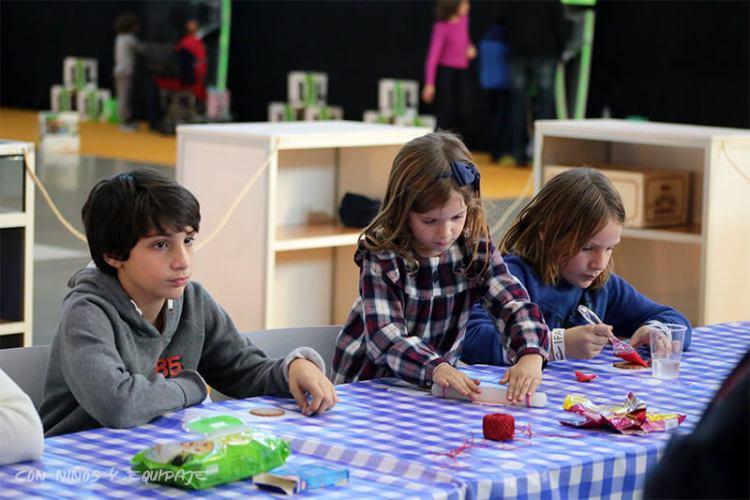Feria de Navidad Exponadal Alicante talleres