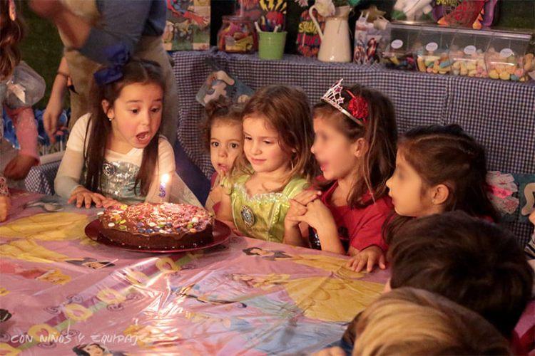 cumpleaños en Mandarina Garden