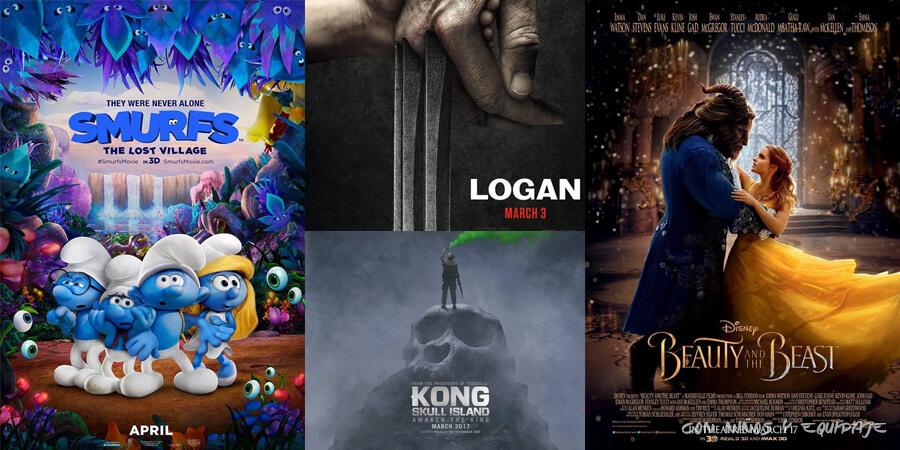 estrenos de cine para niños marzo 2017