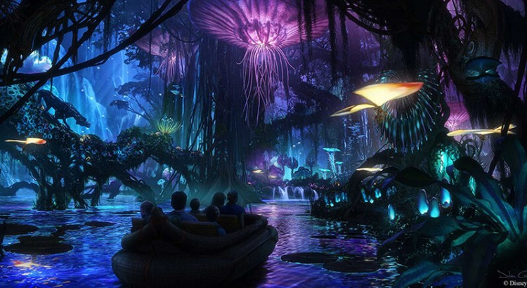 Pandora, el mundo de Avatar en Disney World