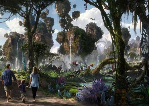 Atracción de Avatar en Disney