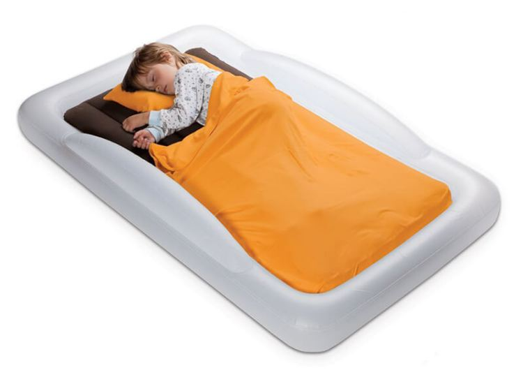 cama de viaje hinchable para niños