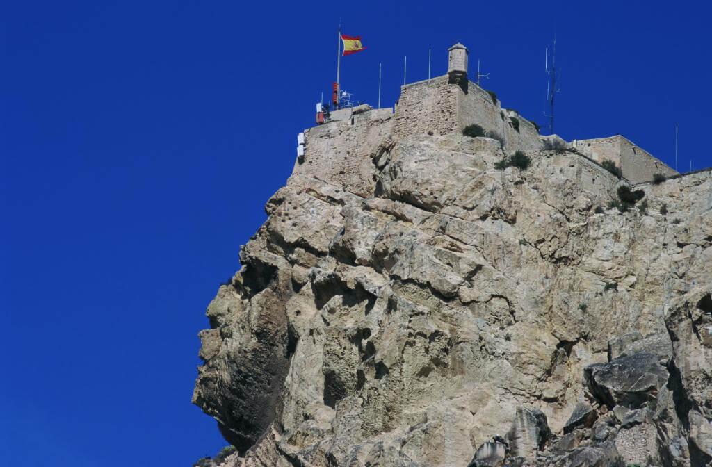 Cara del moro del Castillo de Santa Bárbara