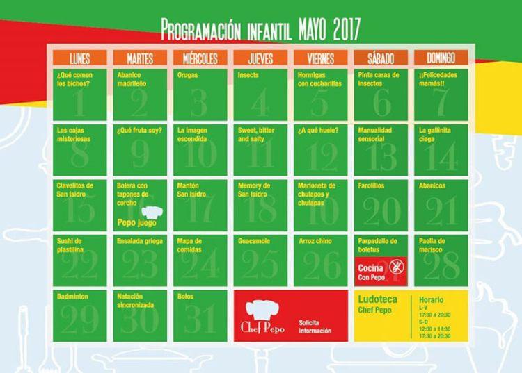 Celebra San Isidro en la ludoteca Chef Pepo