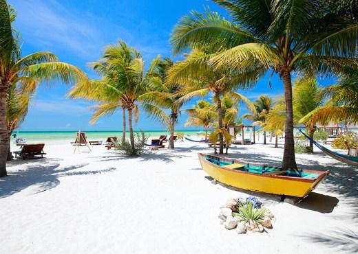 Destinos para viajar en pareja playa