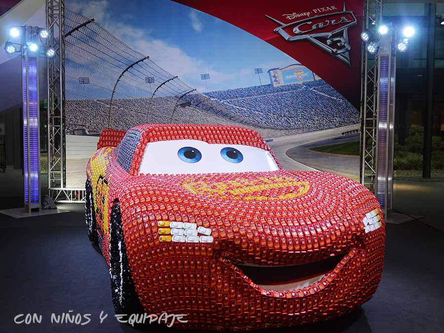 Cars 3: Rayo McQueen a Tamaño Real