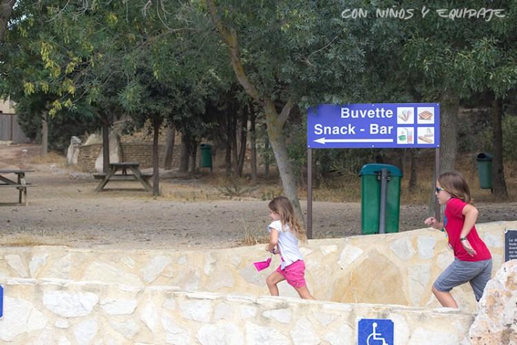 picnic Reserva Africana de Sigean