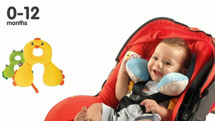 Cojines Cervicales para Viajar con Niños