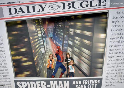 donde se hace la foto con spiderman en disneyland parís