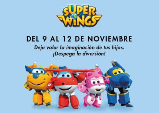 SuperWings en Gran Vía de Hortaleza