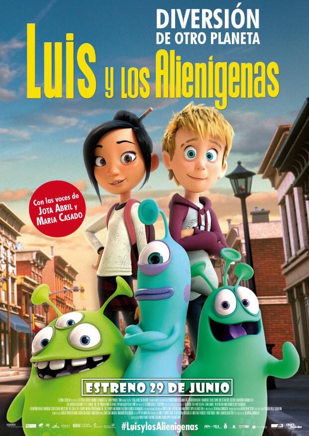 Luís y los alienígenas de Flins & Pinículas