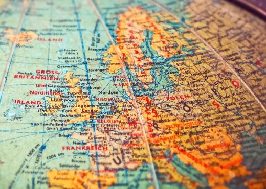forma de viajar por Europa