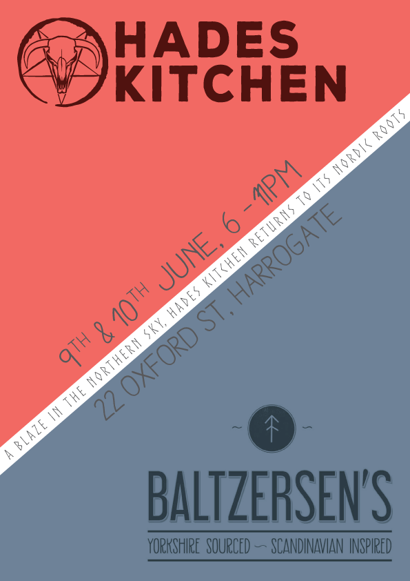Hades Kitchen @ Baltzersen's Poster