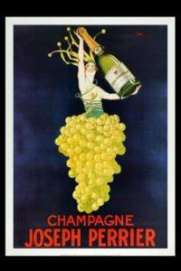 Champagne poster - Joseph Perrier