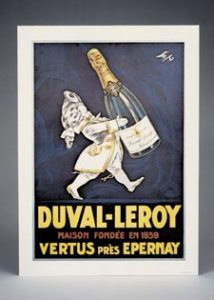 Champagne poster Petit Marquis