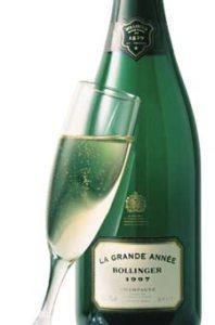 Champagne bottle Bollinger