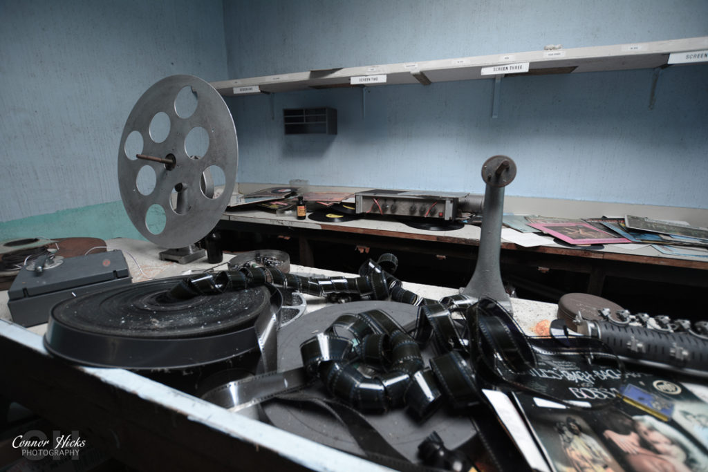 Portsmouth Hampshire Urbex Photography Odeon Cinema Northend Reels 1024x683 Odeon Cinema, Portsmouth