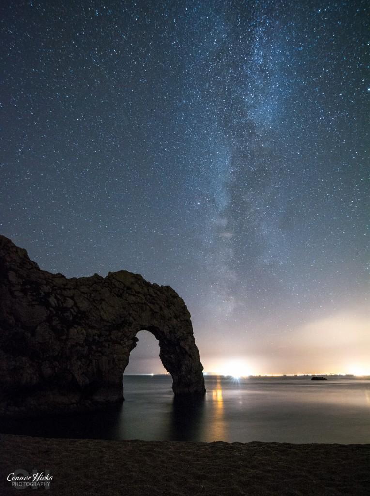 Milky Way Durdle Door Dorset 764x1024 Astro