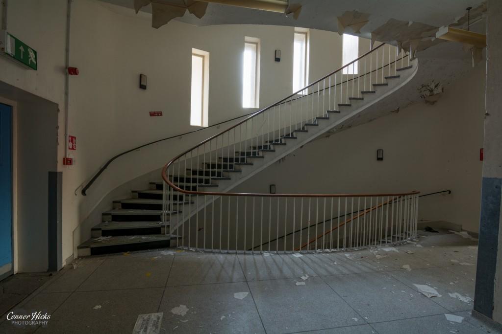 Haslar Urbex Spiral Staircase 1024x683 The Royal Hospital Haslar, Gosport