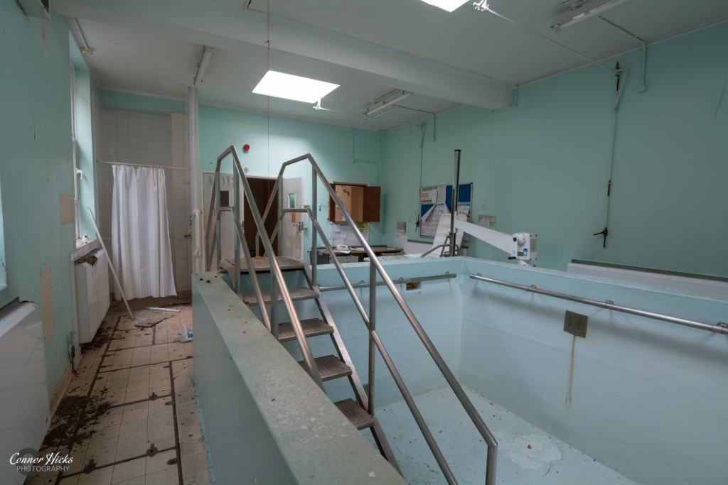 Hydro Pool Haslar Urbex 1024x683 The Royal Hospital Haslar, Gosport
